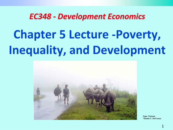 chapter 5 lecture poverty inequality and development n.