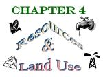 Resources & Land Use