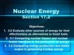 Nuclear Energy Section 17.2