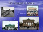 The Question of Berlin