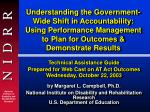 Technical Assistance Guide Prepared for Web Cast on AT Act Outcomes Wednesday, October 22, 2003