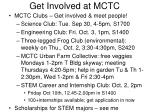 Get Involved at MCTC