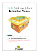 Marubot Football League (2 players) Instruction Manual