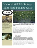 National Wildlife Refuges in Minnesota face a $68.37 million budget shortfall