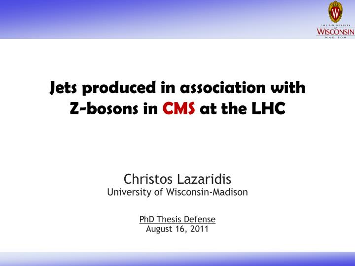 jets produced in association with z bosons in cms at the lhc n.