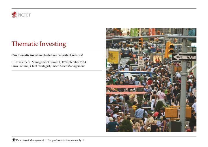 thematic investing n.