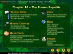 Chapter 10 – The Roman Republic