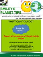 SMILEY'S  PLANET  TIPS
