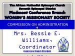 COMMISSION ON ADMINISTRATION