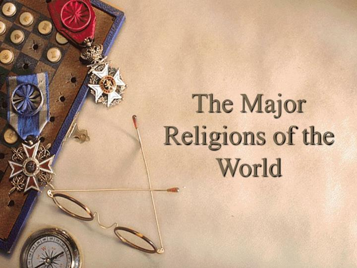 the major religions of the world n.