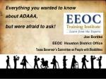 Everything you wanted to know about ADAAA, but were afraid to ask!