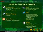 Chapter 14 – The Early Americas