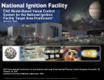 CAD Model-Based Visual Control System for the National Ignition Facility Target Area Positioners*