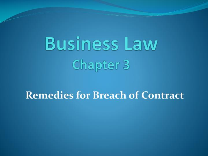 business law chapter 3 n.