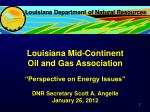 Louisiana Department of Natural Resources