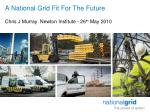 A National Grid Fit For The Future