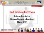Red Sindical Eléctricas