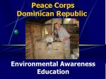 Peace Corps  Dominican Republic