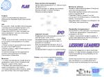 Steps toward achieving goals: Identify ideal membership of CLT, define mission and goals of CLT
