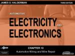 CHAPTER 10 Automotive Wiring and Wire Repair