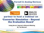 Analog Devices' Approach to Behavioral Modeling By: Tom MacLeod