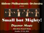 Abilene Philharmonic Orchestra presents