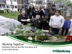 Working Together Hackney Council and the Voluntary and Community Sector