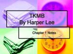 TKMB By Harper Lee