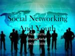 Social Networking And Youth
