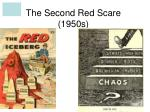 The Second Red Scare (1950s)