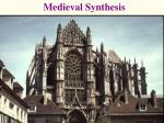 Medieval Synthesis