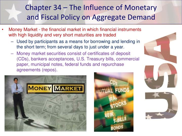 chapter 34 the influence of monetary and fiscal policy on aggregate demand n.