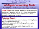 Intelligent eLearning Tools