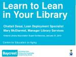 Learn to Lean in Your Library