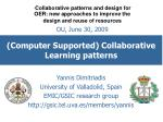 (Computer Supported) Collaborative Learning patterns