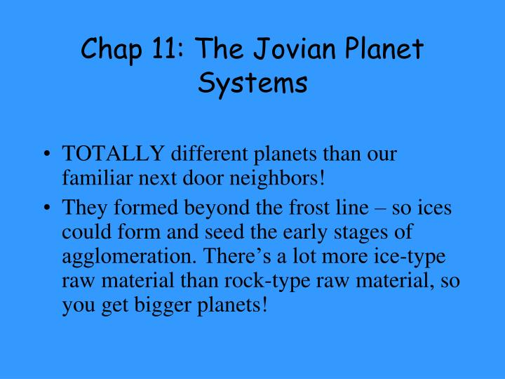 chap 11 the jovian planet systems n.