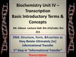 DNA: Structure, Form, &Function as they Relate Ultimately [to] Informational Transfer