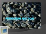 Petroleum and Coal