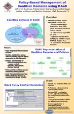 Policy-Based Management of Coalition Domains using KAoS