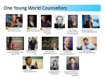 One Young World Counsellors