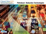 Objectives Describe how natural gas may help improve public health