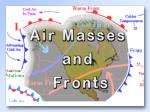 An air mass is a large body of air that has similar  temperature  and  moisture  properties