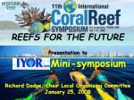 REEFS FOR THE FUTURE