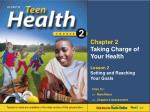 Chapter 2 Taking Charge of Your Health