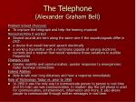 The Telephone (Alexander Graham Bell)