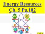 Energy Resources Ch. 5 Pg.102