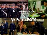 Introduction To Air Force ROTC