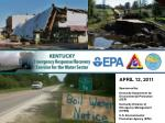APRIL 12, 2011 Sponsored by: Kentucky Department for Environmental Protection (DEP)