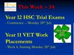 This Week – 3A