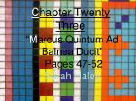 Chapter 23 Vocabulary